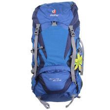 Mochilas y bolsas Deuter color principal azul para acampada y senderismo
