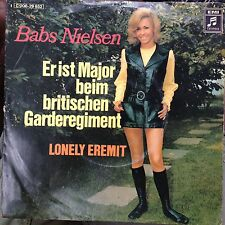 7'Babs Nielsen >Er ist Major beim britischen Garderegiment/Lonely...< KULT