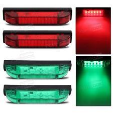 4x Boat Navigation LED Lighting RED & GREEN Waterproof Marine Utility Strip Bar