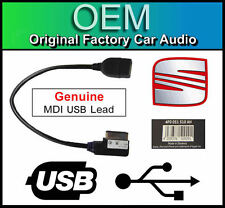 Seat RCD 510 USB lead, media in interface cable adapter