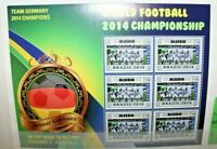 "FRANCOBOLLI LIBERIA 2014 ""WORLD CUP FOOTBALL"" NUOVO MNH** BLOCK (CAT.Z)"