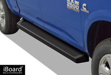 iBoard Black Running Boards Style Fit 09-18 Dodge Ram 1500 2500 3500 Crew Cab