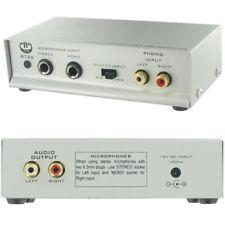 Amplificadores y pre-amplificadores Preamplificador estéreo RCA
