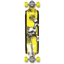 Y Skull Graphic Drop Down Complete Longboard Professional SpeedCruise skateboard