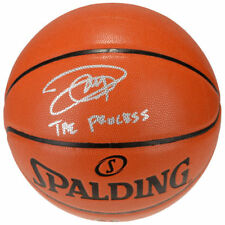 "JOEL EMBIID Autographed / Inscribed ""The Process"" Spalding Basketball FANATICS"