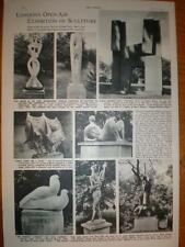 Article Open Air Sculpture Holland Park London 1954