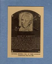 JESSE BURKETT, Cleveland Spiders~Giants~Cardinals | Hall of Fame METALLIC card
