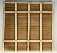 """RETAINING WALL TIMBER & BOARD HIGH POST """"O"""" SCALE ATHERTON SCENICS (#6111)"""