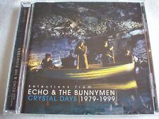 ECHO & THE BUNNYMEN CRYSTAL DAYS 1979-1999 CD SAMPLER NEW
