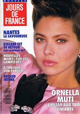 ▬► JdF 1743 (1988) Ornella Muti Gilbert Bécaud