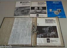 Handbuch / Technische Information Bergische Achsenfabrik Baureihe O / VO