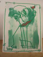 Art Contemporain Art Brut Art Singulier 4004 Oeuvre originale signée Jicé 19/14