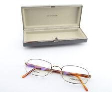 JACOB JENSEN Titanium Brille Mod. 501H Square Minimal Frame Denmark + Case NEW