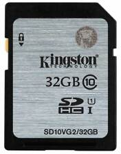 Kingston SD Card 32GB Class 10 SDHC Camera Memory Card SD10V/32GB