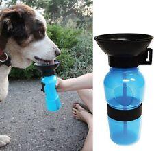 Aqua Dog Borraccia Cane acqua 500 ml Animali Viaggio portatile Ciotola cani