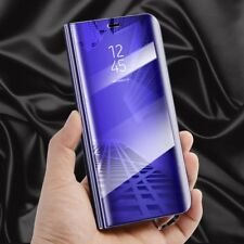 para Samsung Galaxy J5 j530f 2017 Transparente Ver Smart Funda Lila Bolsa Wake