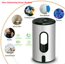 Portable Air Purifier |Mini Ozone Generator + Negative Ion Generator Air Cleaner