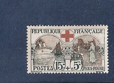"""SUPERBE N° 156 """" au profit de la croix rouge """"de 1918 neuf** cote 300 €"""