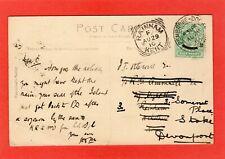 More details for rainham kent squared circle postmark on pembroke pc 1910 ref r418