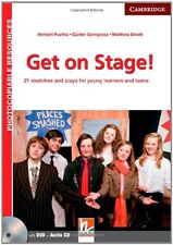 Get on Stage! Teacher's Book with DVD and Audio CD: 21 Sketches and Plays for Yo