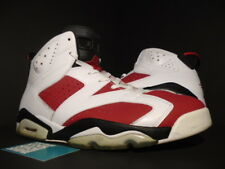 f329d200566a 2014 NIKE AIR JORDAN VI 6 RETRO WHITE CARMINE INFRARED RED BLACK 384664-160  13