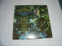 Greatest Hits By The Association (Vinyl 1967 Warner) Used ORG LP 33 Album