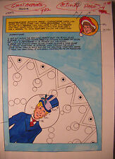 Ghostbusters #3 Ken Feduniewicz 1987 Original Color Guides (4) Activity Pages,