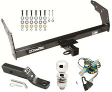 1998-2004 CHEVY S10 & GMC SONOMA COMPLETE TRAILER HITCH PACKAGE W/ WIRING KIT