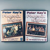 Peter Kay's Phoenix Nights - The Complete 1st & 2nd Series (2003 DVD 2 Disc Set)