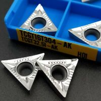 TCGT16T304-AK H01 TCGT32.51-AK Carbide inserts turning blade TCGT for Aluminum