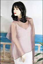 Long Sheer Chiffon Plain Shawl Wrap Scarf Hijab Solid Colors Evening - W178