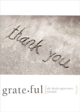 Grateful Tree-Free Greetings Thank You Card