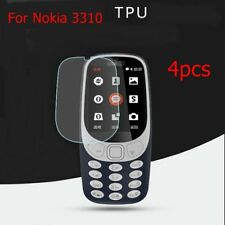 10x Tpu Full Screen Guard Film Cover for Nokia 3310 Soft Screen Protector