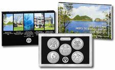 2020-S National Park Quarter SILVER Proof Set, with Box & COA (20AQ)