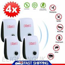 4 pcs 2020 Ultrasonic Pest Repeller Control Electronic Repellent Mice Rat Reject