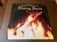 Yngwie J. Malmsteen's Rising Force~1984 Polydor~Guitar Rock Shredder Metal LP
