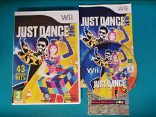 NINTENDO Wii : just dance 2016