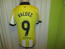 Borussia Dortmund Nike Trikot 2006/07 + Nr.9 Valdez + Signiert Gr.S- M Neu