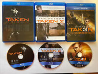 Taken Trilogy Collection (Bluray) [BUY 2 GET 1]