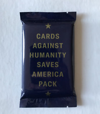 Cards Against Humanity Saves America Pack Expansion CAH