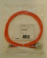 3M Leviton Fiber Optic Multi-Mode Duplex Patch Cable Cord SC LC 50mic 50DCL-M03