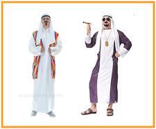 Adult Men Arab Sheik Desert Sultan Oil Baron Arabian Night Costume Party Cosplay