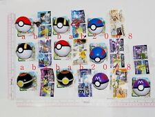 Takara Tomy Pokemon figure gashapon (full set 10 figures with pokeball & sticker
