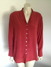 Long Sleeve Button Down Shirt Casual 100% Silk Tops & Blouses for Women