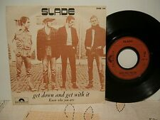 "slade""get down and get with it""single7"".ori.fra.polydor:2058134.DR.dU/07/1971."