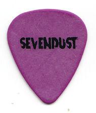 Sevendust Single-Sided Purple Guitar Pick - 1999 Home Tour