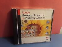 Adobe Photoshop Elements 2.0 Plus Photoshop Album 2.0 (Windows, 2003)