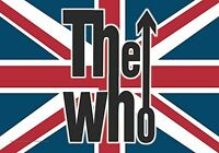 The Who Union Flagge Groß Stoff Poster/Flagge 1100mm x 750mm (Hr )