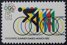 Stamp US 6c Olympics - Cycling, (1972) Cat. #1460 Mint NH/OG