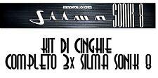 ★ KIT CINGHIE DI RICAMBIO 3 x CINE PROIETTORE 8 mm SILMA SONIK 8 ★